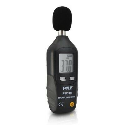 Pyle PSPL03 Mini Sound Level Meter with A Frequency Weighting