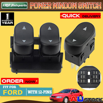 2Pcs for Ford Falcon AU Falcon Series 1&2 98-02 Double+Single Window Switches