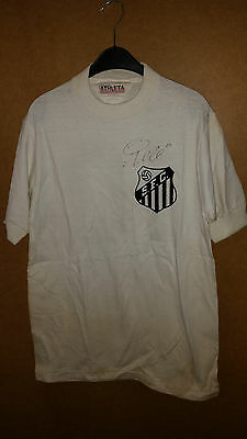 FC Santos Brazil match worn player shirt Pele / Athleta / signed