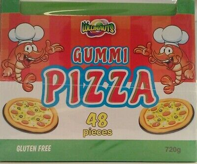 Gummi Pizza Box (15g Each - 48 Pieces)