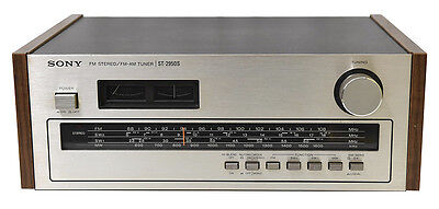 Vintage Sony ST-2905S AM/FM/SW Stereo Tuner