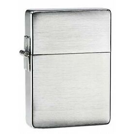Zippo 1935 Replica Brushed Chrome Windproof Lighter - Brand new!