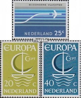 Netherlands 863,864-865 (complete.issue.) unmounted mint / never hinged 1966 Air