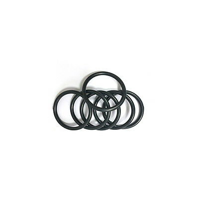 10 x NBR Nitrile Oil Resistant Butadiene Rubber 2mm O-Ring Sealing Ring 13-19mm