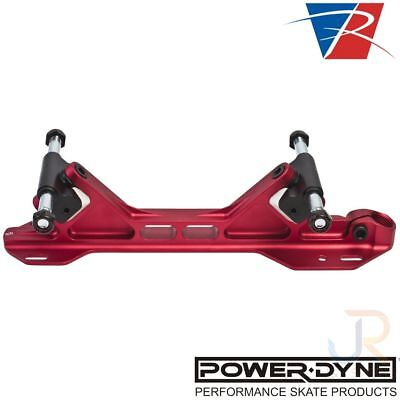 Riedell PowerDyne Arius Derby Plates – Red (Pair)