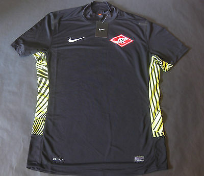 Spartak Moscow Moskva 2012 Player Issue Goalkeeper Shirt L Large NWT Jersey
