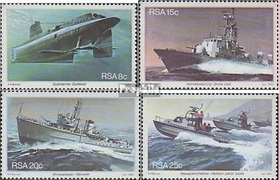 South Africa 597-600 (complete.issue.) unmounted mint / never hinged 1982 Marine