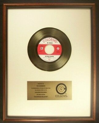 The Monkees Daydream Believer 45 Gold Non RIAA Record Award Colgems Records