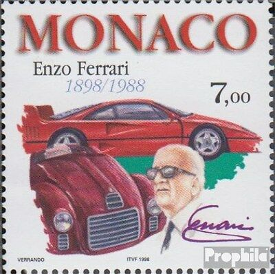 Monaco 2419 (complete.issue.) unmounted mint / never hinged 1998 Enzo Ferrari