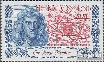Monaco 1837 (complete.issue.) unmounted mint / never hinged 1987 Isaac Newton