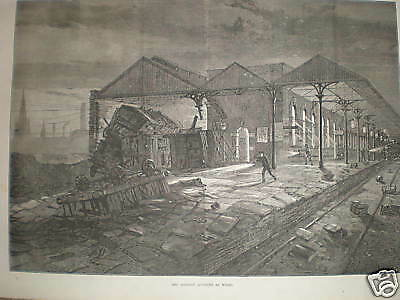 The Railway accident at Wigan 1873