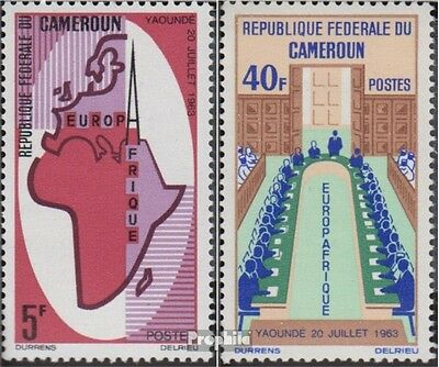 Cameroon 435-436 (complete.issue.) unmounted mint / never hinged 1965 Europafriq