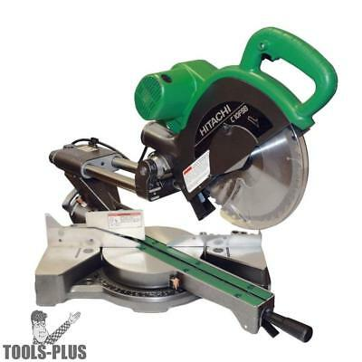 "10"" Sliding Dual Compound Miter Saw Hitachi C10FSBP4 New"