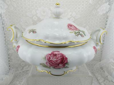Vintage Hutschenreuther~THE DUNDEE Round Covered Vegetable Bowl~Bavaria