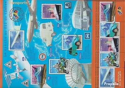 France 3608-3612 Sheetlet (complete.issue.) unmounted mint / never hinged 2002 T