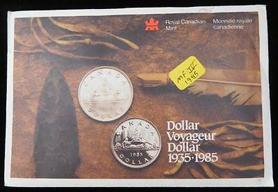 Canada 1985 6 Coin Uncirculated Mint Set.                                #MF-IV