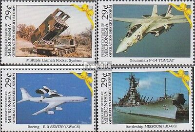 Mikronesien 219-222 (complete.issue.) unmounted mint / never hinged 1991 Liberat