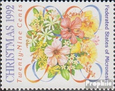 Mikronesien 264 (complete.issue.) unmounted mint / never hinged 1992 christmas