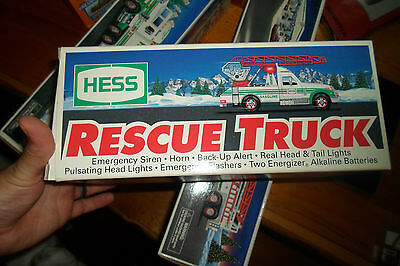 Hess Rescue Truck 1994 mint in box - Brand New!