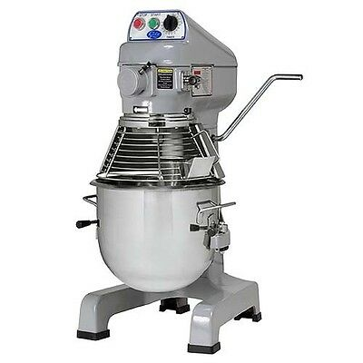 Globe SP20 20 Quart Bench Style Planetary Dough Mixer. Includes Attachments