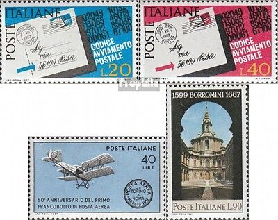 Italy 1237-1238,1239,1240 (complete.issue.) unmounted mint / never hinged 1967 P