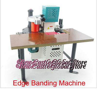 Portable manual edge banding machine 220V/50-60HZ with speed control woodworking