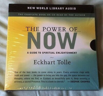THE POWER OF NOW 7 disc Audio book by Eckhart Tolle 7 CD Set Sealed