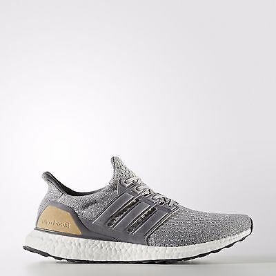hot sale online cabe6 2527a ADIDAS ULTRABOOST 3.0 GREY GOLD (LIMITED-EDITION) Size 10