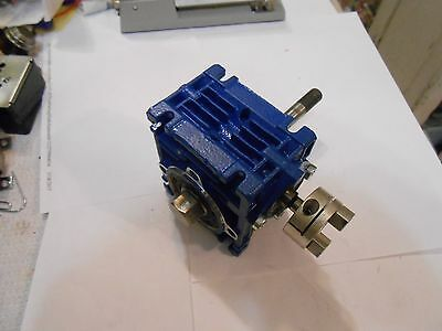 NRV030  MOTOVARIO  10:1  Worm  Gear  Reducer  N. 5271299