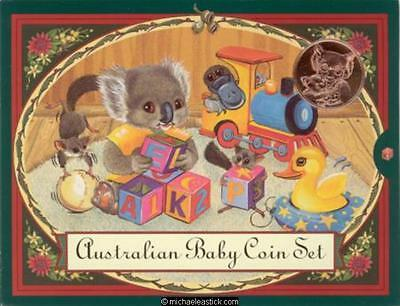 2000 Australian Koala Baby Uncirculated Coin set in Presentation Wallet
