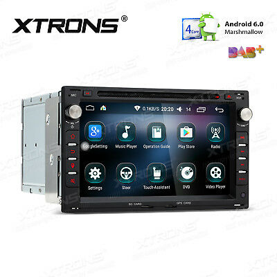"2Din 7"" Android 6.0 Car DVD Player Radio GPS BT For VW Golf MK4 1997-2003 T4/T5"