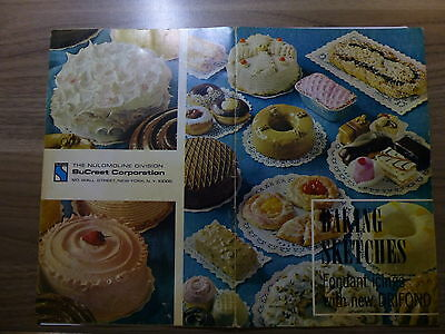 Literature for Bakeries - American Molasses - Fondant Icings - 18 pages - 1966