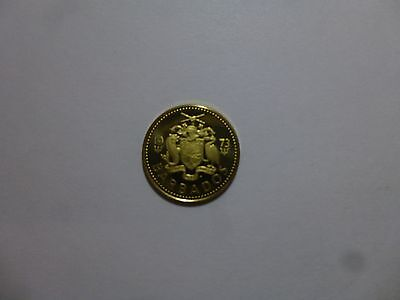 Barbados Coin - 1973 5 Cents - Proof