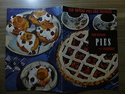 Food Service Literature - Culinary Arts Institute 250 Superb Pies, Pastries 1953