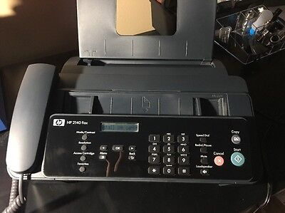 HP 2140 Fax Machine Personal/Office Use Phone & Power Cord Included
