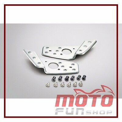 Genuine Stainless steel pedal set for Yamaha ZUMA 125 (2015) / BWS X 125