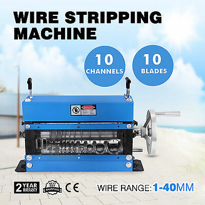 Manual Scrap Cable Wire Stripper/Stripping Machine, Copper Recycling