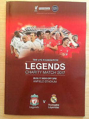 * LIVERPOOL v REAL MADRID - LEGENDS MATCH AT ANFIELD (25th March 2017) *