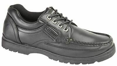 Mens Formal Shoes Lace Up Hard Wearing Smart Office Work School Size
