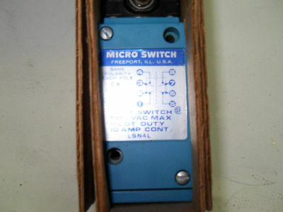 (H11) 1 New Honeywell Lsn4L Microswitch