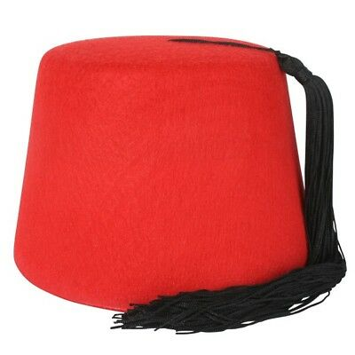 Red Fez Hat Pk 1