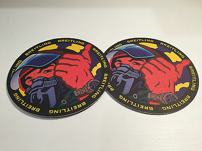 2x Posavasos BREITLING - Drink Coasters - Carton Paper - For Collectors