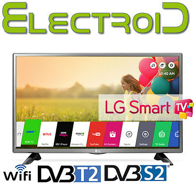"Smart Tv Led 32"" Pollici Lg 32Lh570U Wifi Hd Ready Dvb-T2 C S2 Hdmi Usb Ci+ 2428"