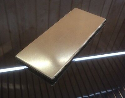 "1/8 BRASS SHEET PLATE NEW 2""X5"" .125 Thick *CUSTOM 1/8 SIZES AVAILABLE*"