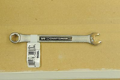 """New 3/8"""" Craftsman 6pt Combination Wrench 44383"""