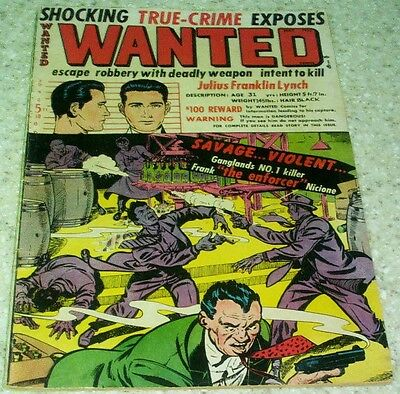 Wanted Comics 47 (VG/FN 5.0) 1952 Al Capone & Frank Nicione story! 40% off Guide