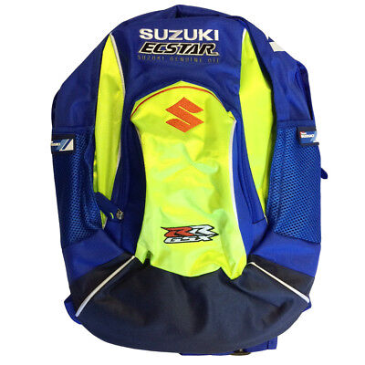 New - Suzuki Genuine Clothing - 2017 Moto GP Team - Backpack / Rucksack / Bag -