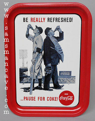 Coca Cola Be Really Refreshed Tray