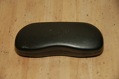 RAY-BAN Clam Shell SUNGLASSES GLASSES CASE ONLY BLACK