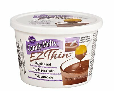 Wilton Candy Melts EZ Thin Tasteless Decorating Dipping Consistency Aid - 6oz